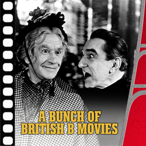 Jaffa Cakes For Proust – A Bunch Of British B Movies